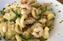 pasta zucchine e gamberetti bimby