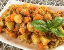 Zucca e patate gratinate in forno. Contorno facile.