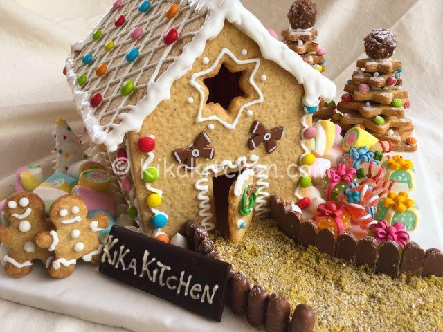Casetta Di Natale Da Colorare : Casetta di pan di zenzero o di pasta frolla kikakitchen