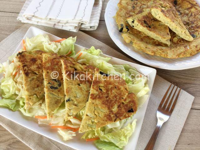 Frittata di cavolfiore in padella o al forno