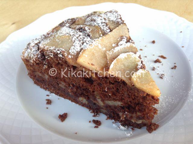 torta-con-pere-e-cioccolato