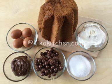 ingredienti pandoro farcito