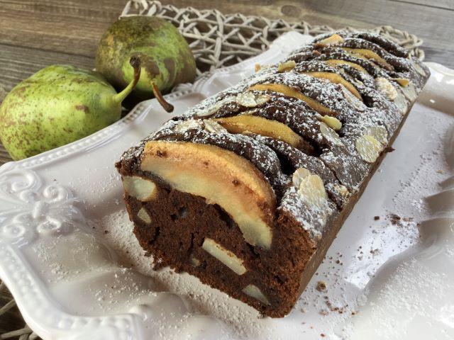 plumcake-pere-e-cioccolato