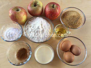 ingredienti-torta-di-mele-senza-lattosio