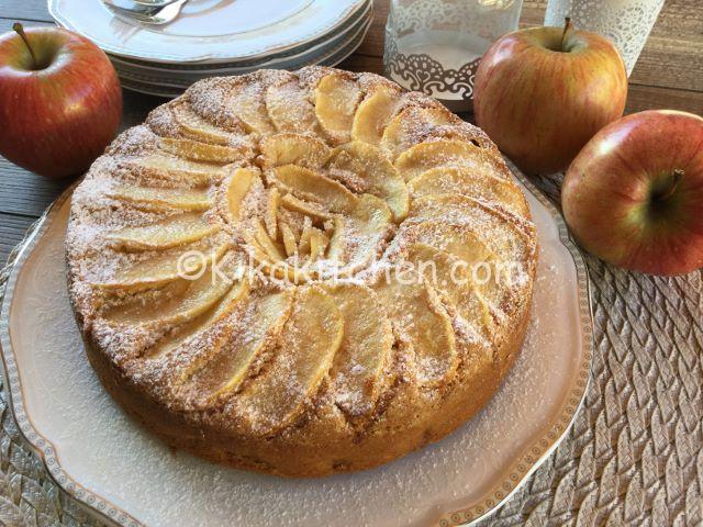 torta alla mela senza glutine