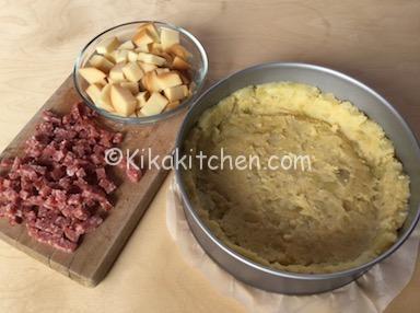 sbriciolata con patate