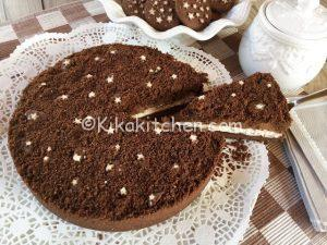 Sbriciolata pan di stelle mascarpone e nutella, senza cottura