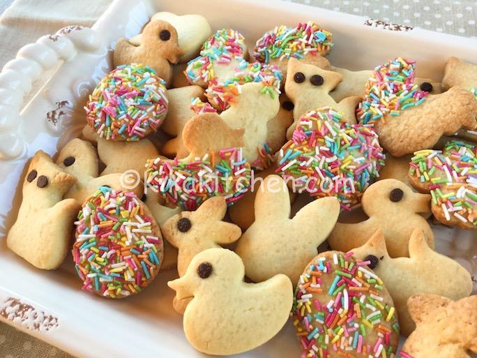 Biscotti Di Natale Uccia.Biscotti Di Pasqua Decorati Ricetta Passo Passo Kikakitchen