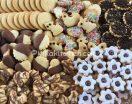 Biscotti di pasta frolla assortiti