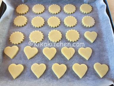 come fare i biscotti di pasta frolla