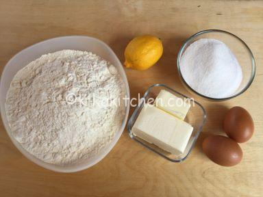 ingredienti pasta frolla per biscotti