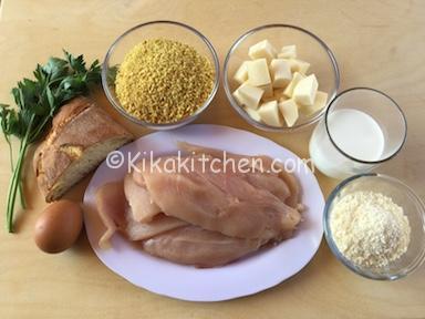 ingredienti polpette di pollo