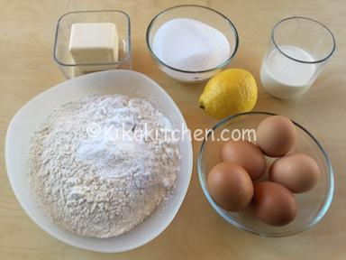 ingredienti torta margherita