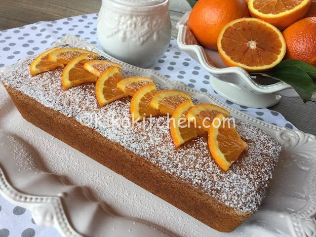 plumcake con le arance