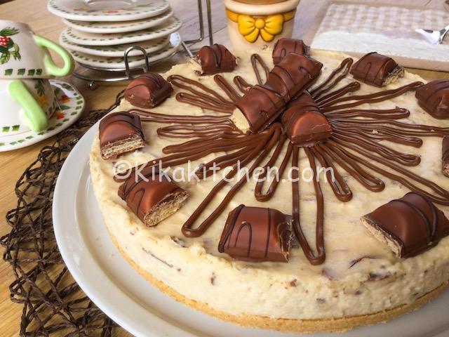 Cheesecake kinder bueno senza cottura. Ricetta passo passo