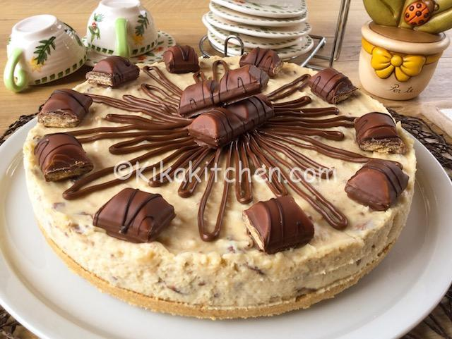 Ricetta Cheesecake Nutella E Kinder Bueno.Ricetta Cheesecake Kinder Bueno Senza Cottura Ricetta Passo Passo Kikakitchen