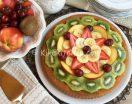 Crostata morbida alla frutta con crema pasticcera bimby