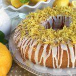 Ciambella al limone bimby facile e veloce