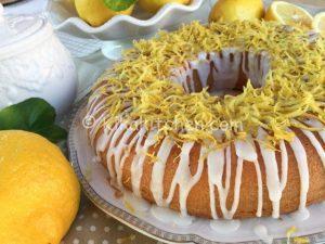ciambella al limone bimby