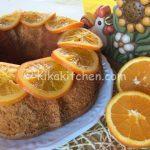Ciambella all'arancia bimby facile e profumata