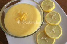 crema al limone bimby