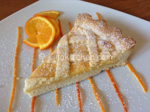 Crostata all'arancia bimby morbida e friabile
