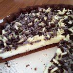 Crostata con crema al latte bimby con frolla al cacao