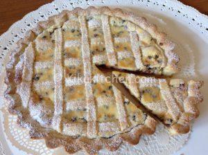 crostata ricotta e gocce di cioccolato bimby