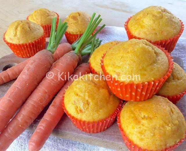 muffin alle carote bimby