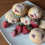 Muffin alle fragole bimby soffici e golosi