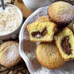 Muffin con cuore di nutella bimby morbidi e golosi