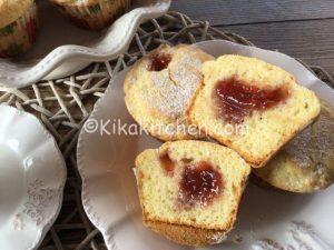 muffin con marmellata bimby