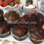 Muffin fragole e cioccolato bimby semplici da preparare