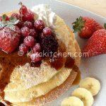 pancakes americani bimby