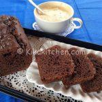 Plumcake al cioccolato bimby con gocce di cioccolato