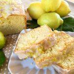 Plumcake al limone bimby con glassa