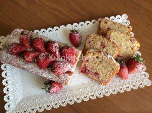 plumcake alle fragole bimby