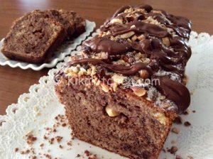 plumcake nutella e nocciole bimby