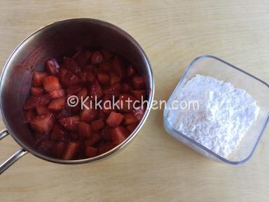 salsa fragole