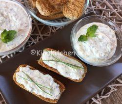 Salsa tzatziki. Salsa greca allo yogurt. Ricetta facile