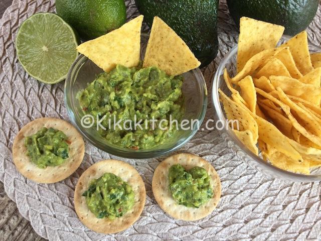 salsa guacamole bimby