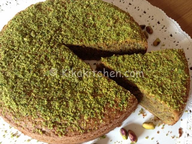 Torta al pistacchio bimby soffice e golosa