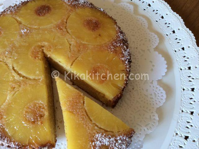 torta all'ananas bimby