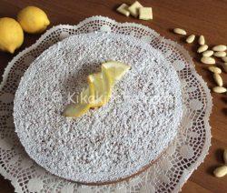 Torta caprese al limone bimby con mandorle