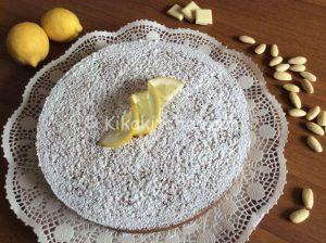 torta caprese al limone bimby