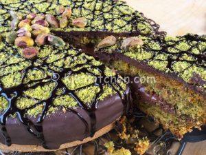 torta cioccolato e pistacchio bimby