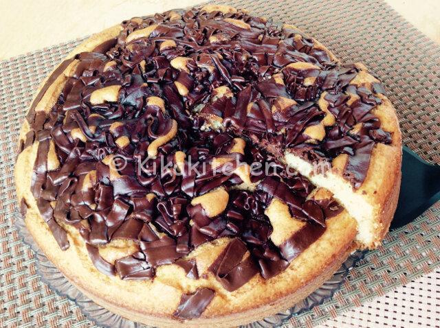 Torta con nutella bimby soffice e facile da preparare