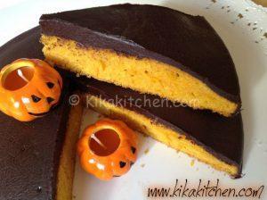 torta di zucca e cioccolato bimby