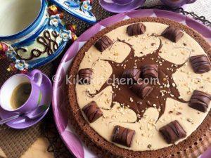 torta Kinder bueno bimby
