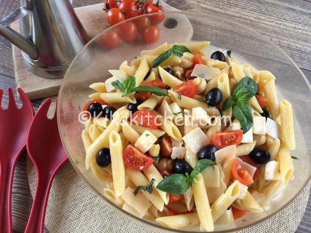Insalata di pasta fredda ricette estive veloci e facili for Primi piatti di pesce veloci